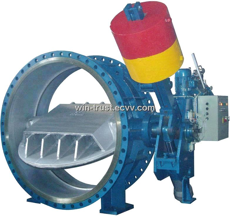 Butterfly Valve for Turbine Main Inlet
