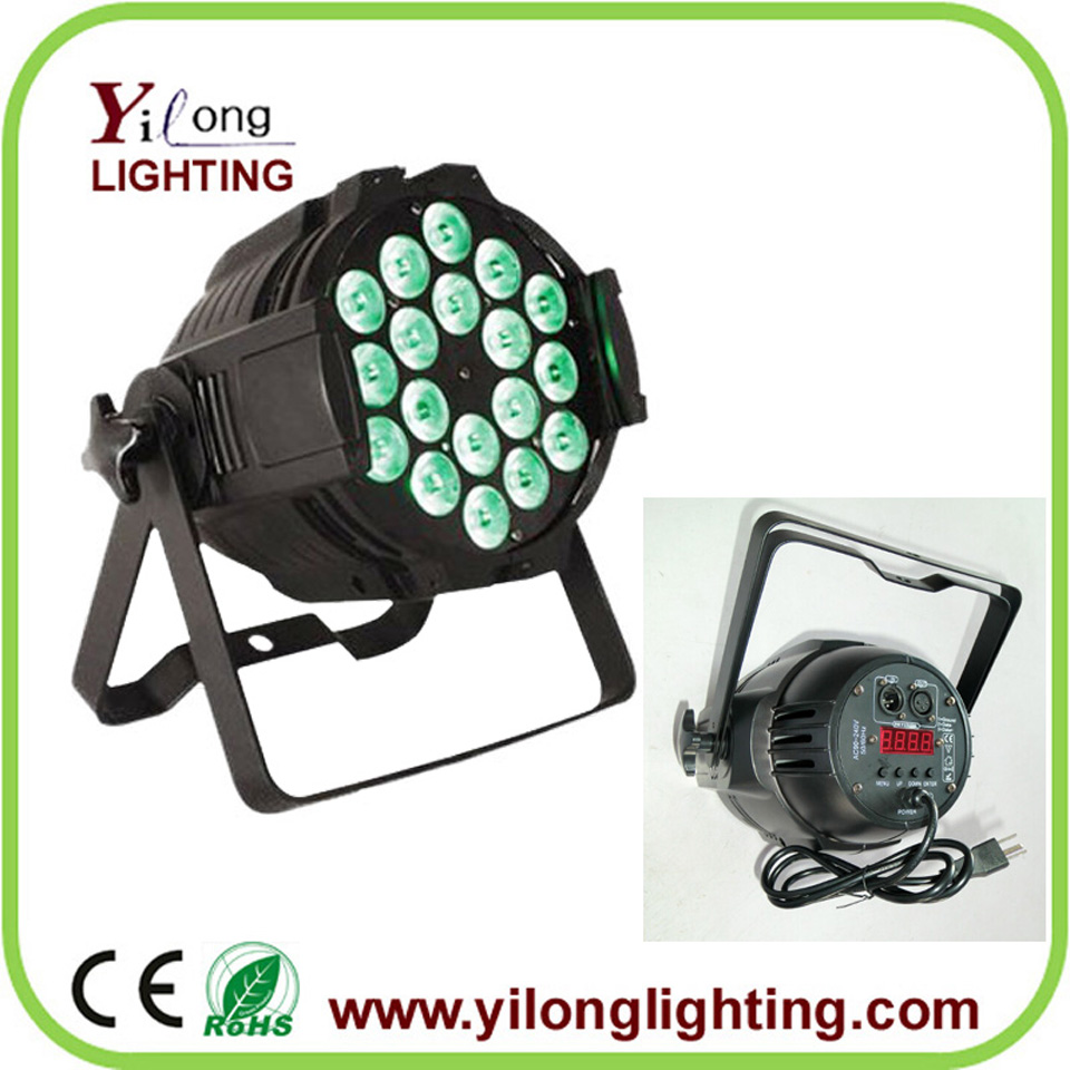 18x15w RGBAW 5 in 1 Aluminum High Power LED Par64