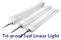 Model S 45W Tri-Proof LED Linear Light 120lm/w 130lm/w