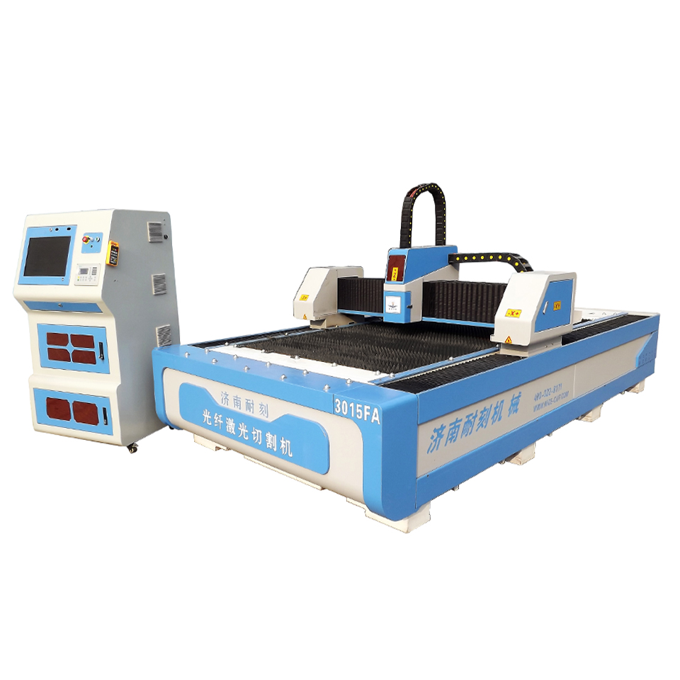 NC-F3015 metal sheet Fiber laser cutting machine CE SGS FDA 300w 500w  750w 1200w 1500w